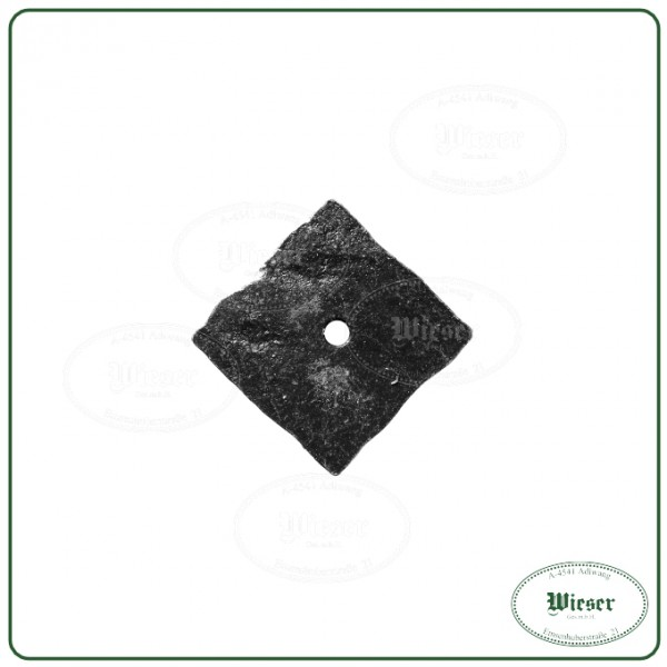Grundplatten für Möbelknöpfe